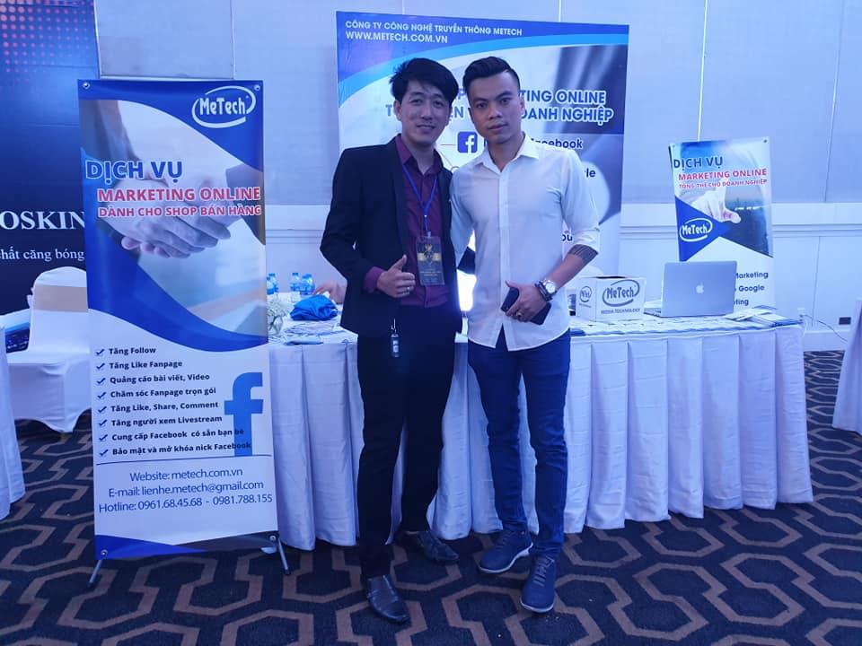 Chụp cùng anh Huy chủ hệ thống Gà Spa với hệ thống spa toàn Hồ Chí Minh