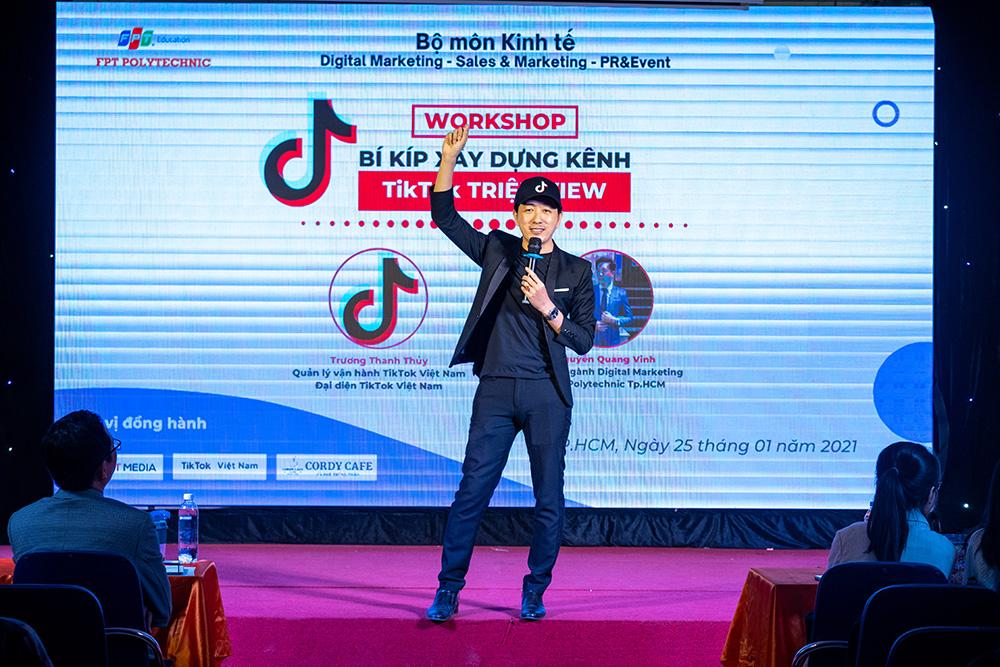 Thay Vinh dao tao tiktok marketing